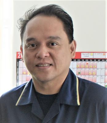 Joselito Habab, a nurse who died after contracting coronavirus (Warrington and Halton Teaching Hospitals NHS Trust/PA)