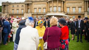 The Queen hosts thousands of guests at garden parties (Dominic Lipinski/PA)