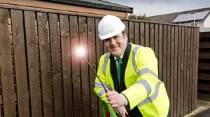 Connectivity minister Paul Wheelhouse has announced tax relief for companies installing fibre optic broadband in Scotland (Scottish Government/PA)