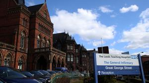 The wards affected by bed closures are at Leeds General Infirmary and St James's University Hospital