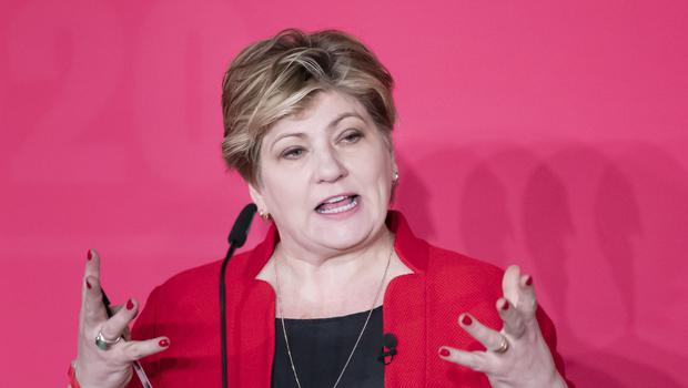 Emily Thornberry has said she remains in the Labour leadership race 'to win it' (Danny Lawson/PA)