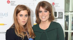 Sister Princess Beatrice and Princess Eugenie (Jonathan Brady/PA)