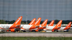 EasyJet revealed that 99% of votes cast by independent shareholders backed the board (Gareth Fuller/PA)