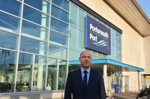 Mike Sellers, the director of Portsmouth International Port (Ben Mitchell/PA)