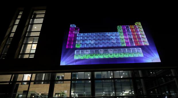Chemical elements are considered to be under threat (Scott Heppell/PA)