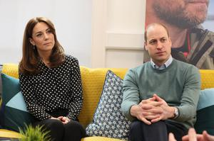 The Duke and Duchess of Cambridge have pledged to make supporting the mental health of frontline workers their 'top priority' in the months ahead (Brian Lawless/PA)