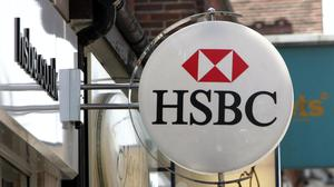 Coronavirus and a drop in interest rates have hit HSBC (Tim Ockenden/PA)