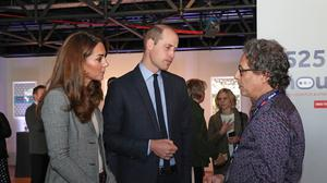 Ian Russell met the Duke and Duchess of Cambridge in 2019 during a event with the charity Shout, the UK's first 24/7 text service for people in crisis (Yui Mok/PA)