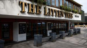 The Litten Tree pub in Coventry, which has been closed indefinitely (Jacob King/PA)