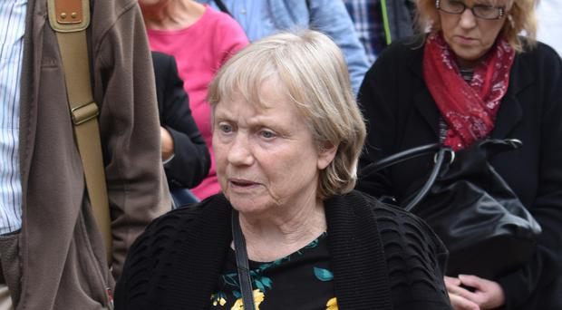 Mavis Eccleston was cleared at Stafford Crown Court of murder and manslaughter (Matthew Cooper/PA)
