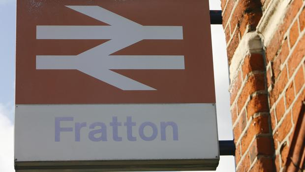 A fading British Rail sign as Labour signals rail re-nationalisation as a policy (Chris Ison/PA)