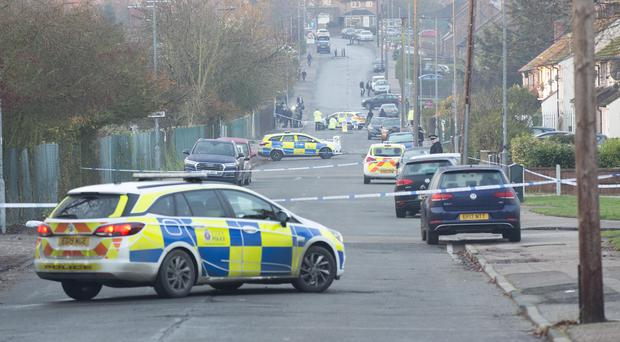 The scene near Debden Park High School, in Loughton, Essex (Rick Findler/PA)