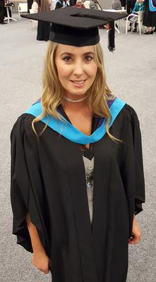 Lisa graduated from Huddersfield University (Family handout/PA)