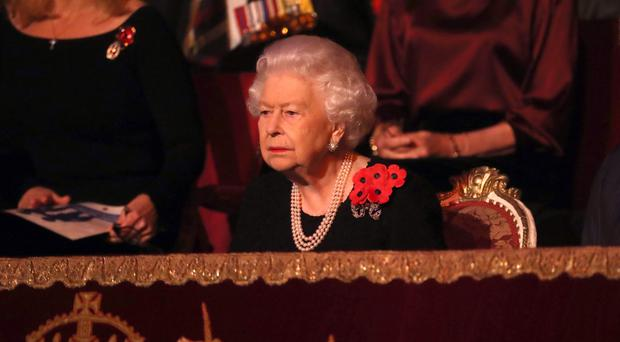 The Queen attends the annual Royal British Legion Festival of Remembrance (Chris Jackson/PA)