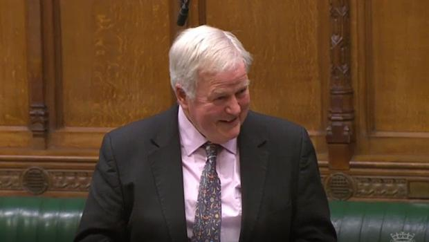 Tory MP Bob Stewart drew laughs with a comment he made in the House of Commons (Parliament TV)