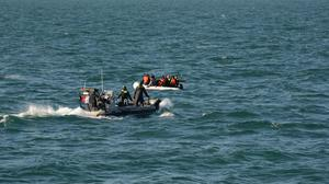 French authorities making their way to rescue migrants (Maritime Prefecture of the Channel and the North Sea)