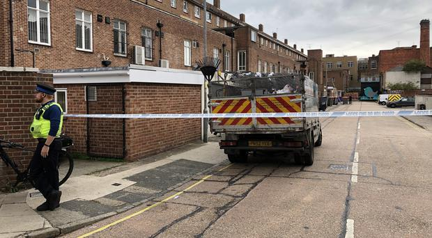 Police investigating the death of a woman found on a rooftop accessible from Tonbridge Street, Southsea (Ben Mitchell/PA)