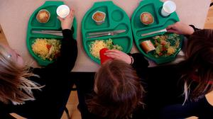 Less than a fifth of school food in Scotland is from Scotland, according to new analysis (Chris Radburn/PA)