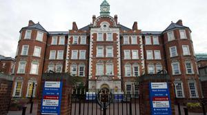 The HIV patient was treated at Hammersmith Hospital (Gareth Fuller/PA)