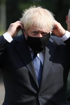 Prime Minister Boris Johnson signalled tougher fines for people in England who refuse to wear face coverings (Brian Lawless/PA)