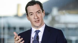 George Osborne said high-growth businesses are leading the charge in rebuilding the economy