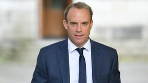 Foreign Secretary Dominic Raab has announced the first UK sanctions for human rights abuses (Stefan Rousseau/PA)