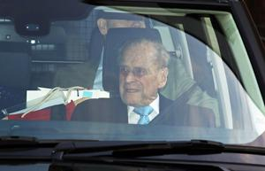 Philip leaves hospital in December 2019 (Philip Toscano/PA)