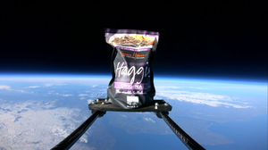 A haggis has been launched into space (Simon Howie/PA)