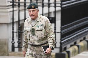 Chief of the Defence Staff General Sir Nick Carter (Stefan Rousseau/PA)
