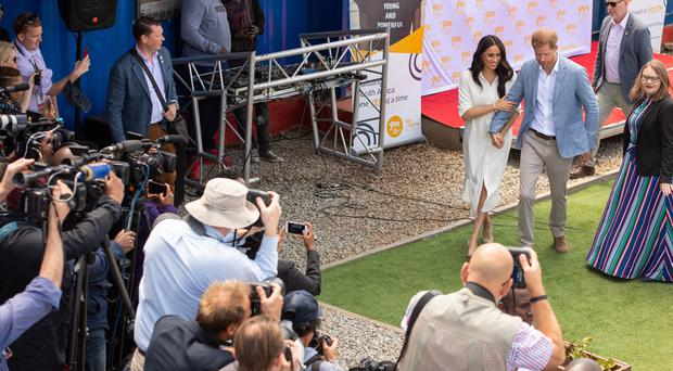 Harry and Meghan are changing their approach to the media (Dominic Lipinski/PA)