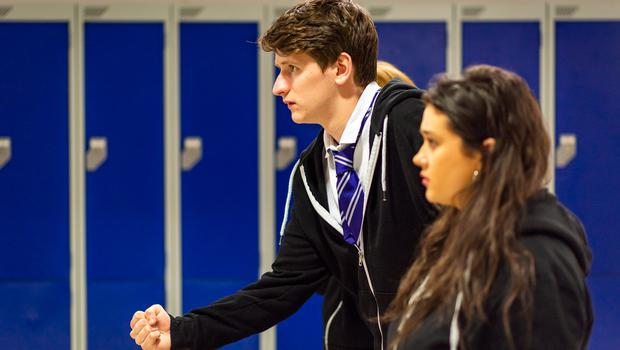 A play about knife harm has reached 20,000 young people (Andy Catlin/PA)