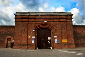 Alexander Palmer appeared by videolink from Norwich Prison (Chris Radburn/PA)