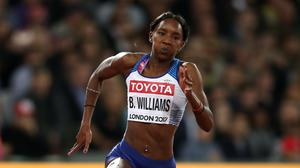 Great Britain's Bianca Williams in action (John Walton/PA)