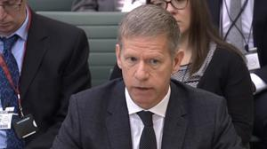 Chief inspector of probation Justin Russell (PA)