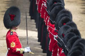 The Coldstream Guards are the oldest continuously serving regiment in the British Army (Victoria Jones/PA)