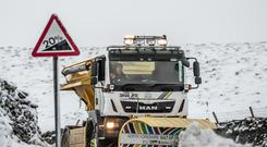 Gritters have been made available in Scotland and England (Danny Lawson/PA)