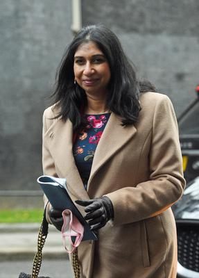Attorney General Suella Braverman (Kirsty O'Connor/PA)