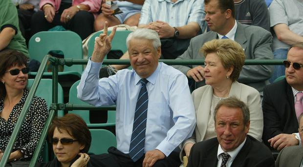 Russian President Boris Yeltsin hung up on US leader Bill Clinton after being kept waiting on the phone for 90 minutes, newly released documents reveal (Andrew Parsons/PA)