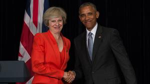 Theresa May will meet with Barack Obama during his farewell trip to Europe