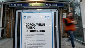 A second person in the UK has died after testing positive for coronavirus (Andrew Milligan/PA)
