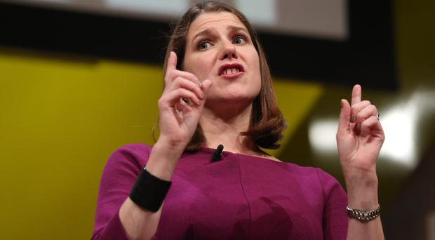 Jo Swinson is preparing to make her first leader's speech to the Liberal Democrats conference (Jonathan Brady/PA)