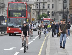 Most of the longest commutes were in London (Nick Ansell/PA)