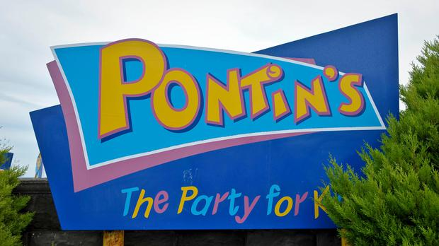 A general view of Pontin's signage (Ben Birchall/PA)