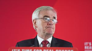 Shadow chancellor John McDonnell said the Government must do 'everything necessary' to support the economy (David Mirzoeff/PA)