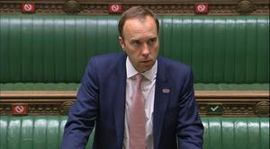 Health Secretary Matt Hancock promised MPs a vote 'wherever possible' on coronavirus rules before they came into force (House of Commons/PA)