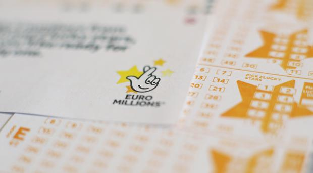 The EuroMillions jackpot is an estimated £167 million (Yui Mok/PA)