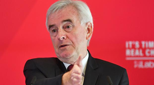 Shadow chancellor John McDonnell described the issue of anti-Semitism as 'horrible' (PA)