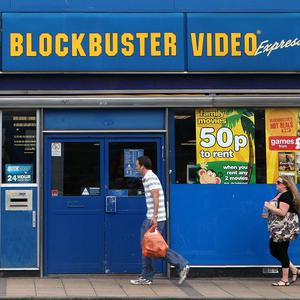 Blockbuster collapsed in January amid competition from internet firms and the digital streaming of movies and games