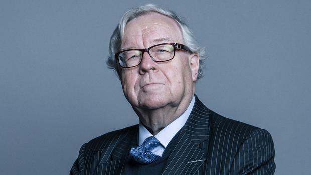 Conservative peer Lord Cormack who has suggested Donald Trump should address Parliament (Chris McAndrew/UK Parliament/(Attribution 3.0 Unported (CC BY 3.0)/PA)