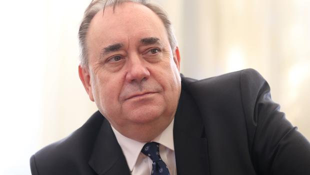 Former Scottish first minister Alex Salmond. (Jane Barlow/PA)